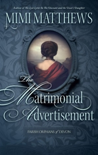 The Matrimonial Advertisement by Mimi Matthews - Book Cover